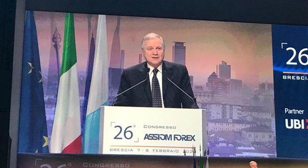Il Governatore della Banca d'Italia, Ignazio VISCO, interviene ad Assiom Forex 2020: sfide, impegni obiettivi comuni, in un contesto di incertezza e